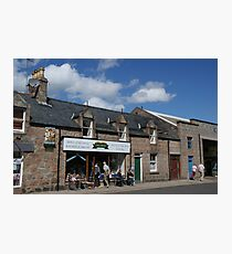 Chalmers Bakery, Ballater Photographic Print