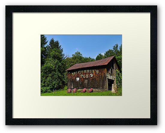 McGurrin's Barn by PineSinger