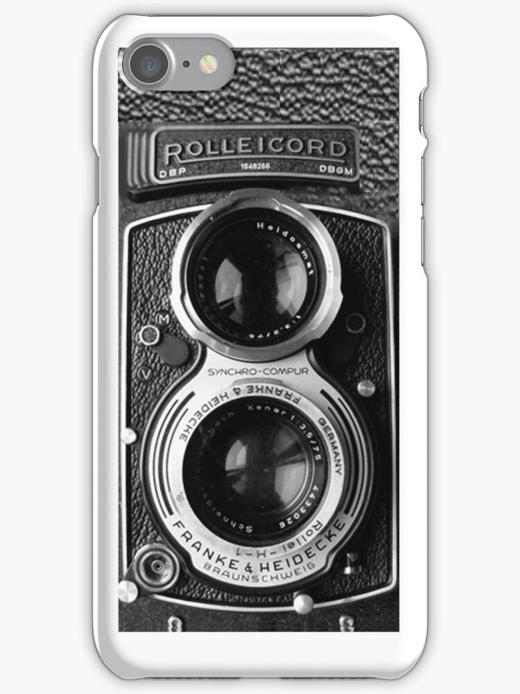 ☜ ☝ ☞ ☟ Rolleicord Camera iPhone Case ☜ ☝ ☞ ☟  by ✿✿ Bonita ✿✿ ђєℓℓσ