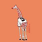 Belt Giraffe (Orange/iPhone 4/s) by swiener