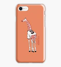 Belt Giraffe (Orange/iPhone 4/s) iPhone Case/Skin
