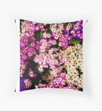 Flowers, Fitzroy Gardens Throw Pillow