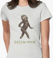 Sassquatch Women's Fitted T-Shirt