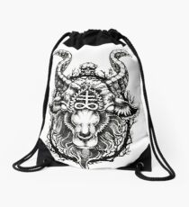 Lucifer Drawstring Bag