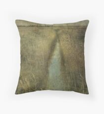 Cley Marshes Throw Pillow