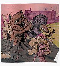 Ground cat Poster