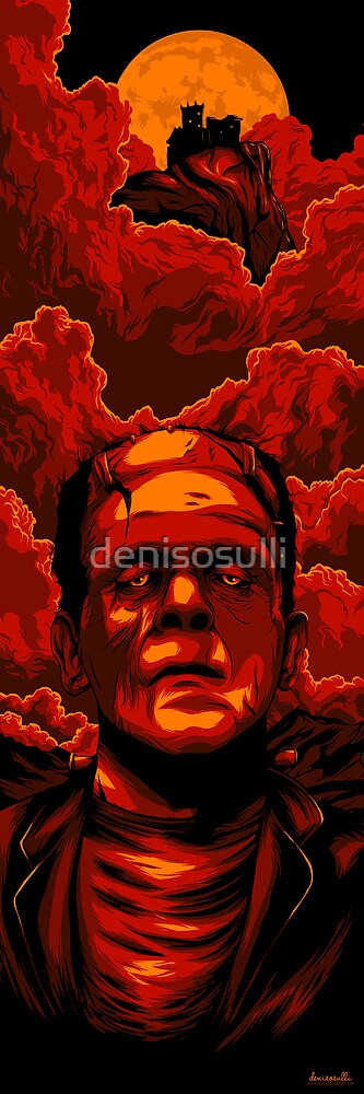 Frankenstein by denisosulli