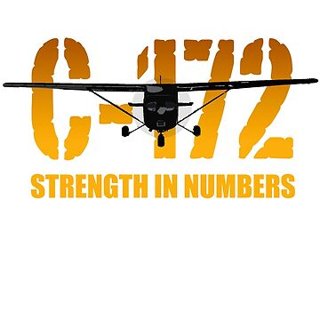 "Cessna C-172 ""Strength in Numbers"" by clubwah"