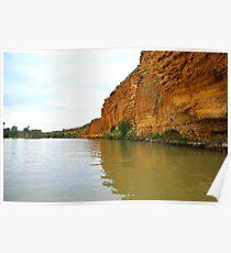 Rugged cliffs - River Murray Poster