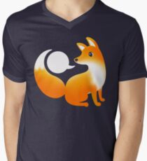 WHAT DOES A FOX SAY? Men's V-Neck T-Shirt