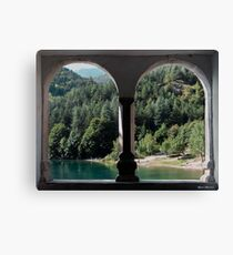 A look at the lake Canvas Print