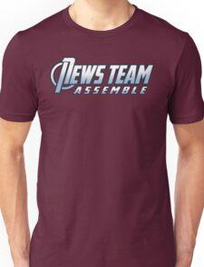 News Team Assemble Unisex T-Shirt