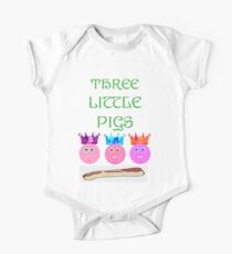 Three Pigs One Piece - Short Sleeve