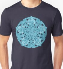 Celestial Celtic Knotwork Pentacle Unisex T-Shirt