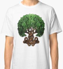 Celtic Tree of Life Knotwork Classic T-Shirt
