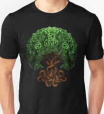 Celtic Tree of Life Knotwork Unisex T-Shirt