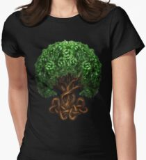 Celtic Tree of Life Knotwork Women's Fitted T-Shirt