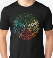 Elemental Celtic Knotwork Pentacle Unisex T-Shirt
