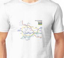 Bioshock Infinite - Columbia Sky-Line Map Unisex T-Shirt