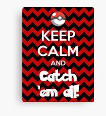 Catch 'em All! Canvas Print