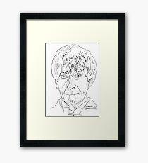Patrick Troughton - 2nd Doctor Framed Print