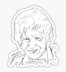 Jon Pertwee - 3rd Doctor Sticker