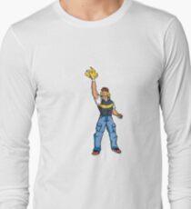 Poké-MAN: I HAVE THE PIKAAAAAAAA! Long Sleeve T-Shirt