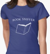 Book Sniffer Womens Fitted T-Shirt