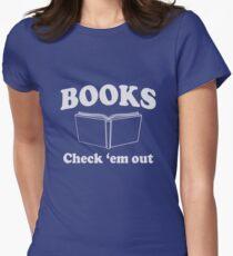 Books. Check'Em Out T-Shirt