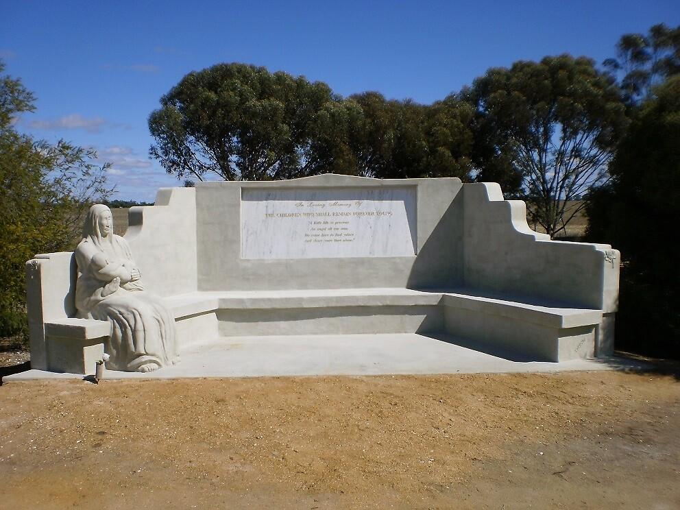 Infant Death Memorial  by stevemonk