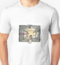 Nakatomi Lift Shaft Christmas Card T-Shirt