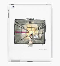 Nakatomi Lift Shaft Christmas Card iPad Case/Skin