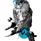 Hipster Bird is Not a Vegan by rustyfeathers