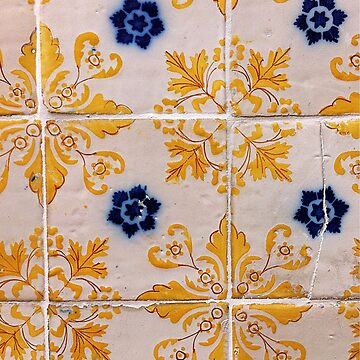 Portugal Tile Number Eleven by MKienhuis