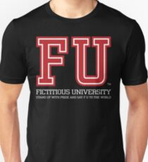 Fictitious University - for Dark Garment T-Shirt