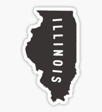 Illinois - My home state Sticker