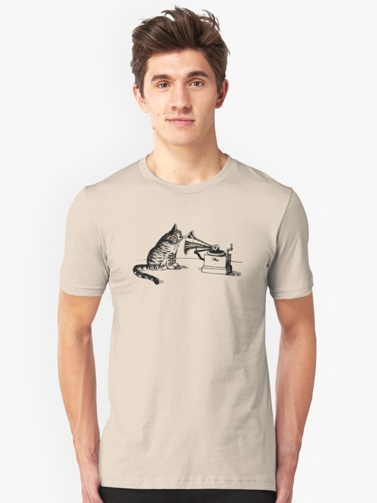 His Master's Voice Unisex T-Shirt Front