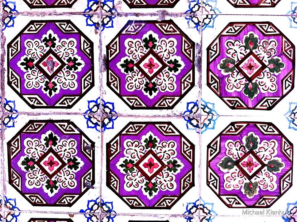 Portugal Tile Number Twenty Two by Michael Kienhuis