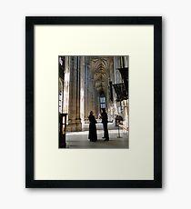 Confession Framed Print