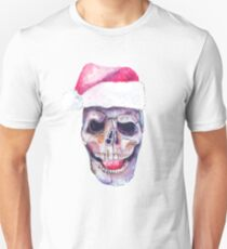 Santa's skull Unisex T-Shirt