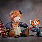 Still Life #31 - Sapa Bear & Cat  by Malcolm Heberle