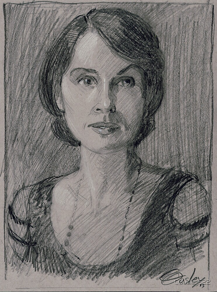 """Lady Mary Josephine Crawley """"Downton Abbey"""" by COusley622"""