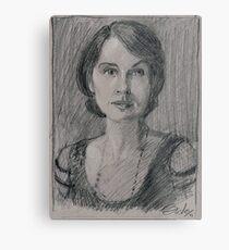 "Lady Mary Josephine Crawley ""Downton Abbey"" Metal Print"