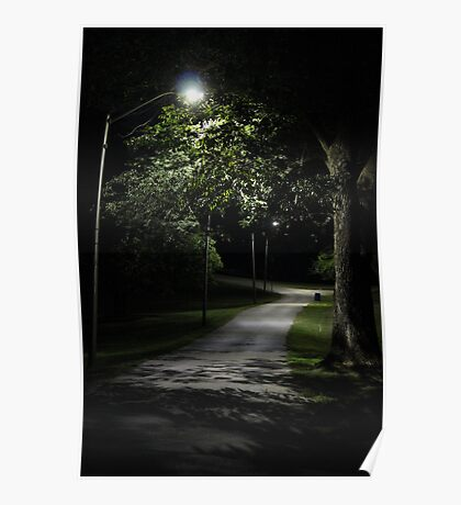 In the Park after Dark Poster