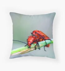 Soldier on! Throw Pillow