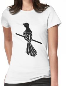 House Baelish Sigil Womens Fitted T-Shirt