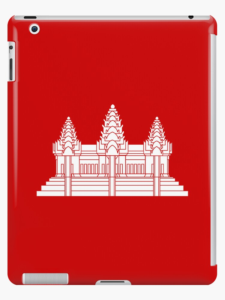 Angkor Wat / Khmer / Cambodian Flag by iloveisaan