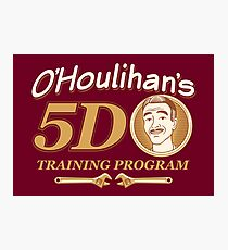 O'Houlihans 5D Training Program Photographic Print