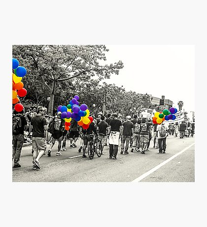 Balloons and Pride Photographic Print