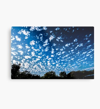 Magnificent Sky and Clouds No 3 Metal Print